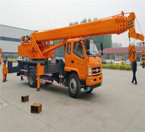 12吨小型液压汽车吊车